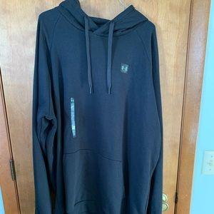 Men's Loose Fit Black Under Armour Sweatshirt 3XL